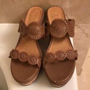 Jack Rogers wedges worn a handful of times